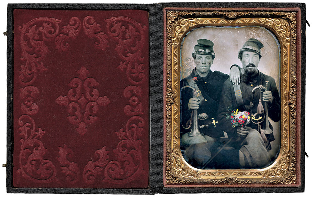 Quarter-plate tintype by an unidentified photographer. Dan Schwab Collection.