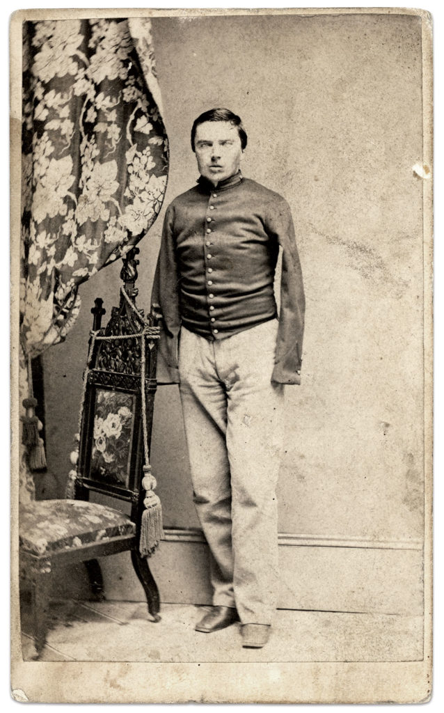 Carte de visite by Thomas Heney of New York City. Author's collection.