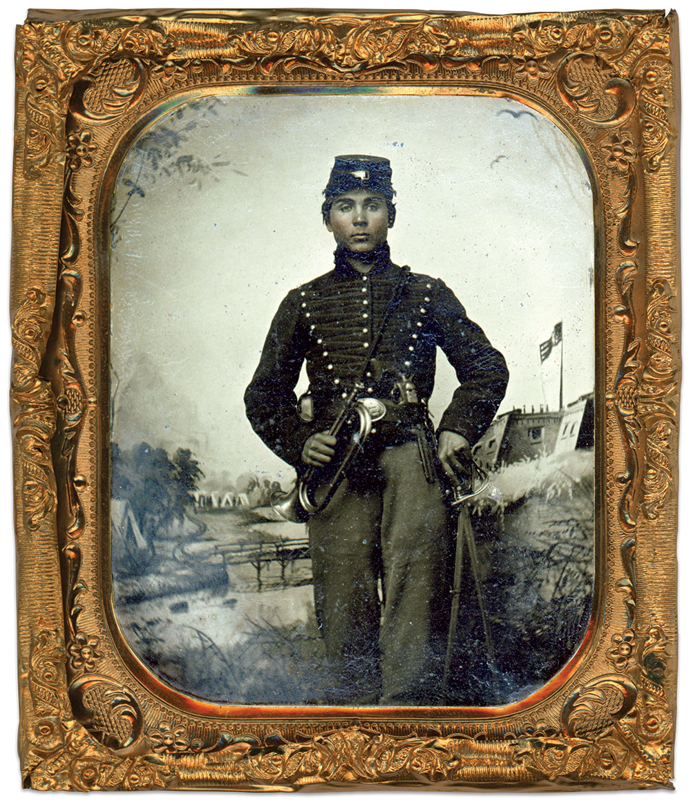 Sixth-plate tintype by Ansel R. Butts of St. Louis, Mo. Brian Boeve Collection.