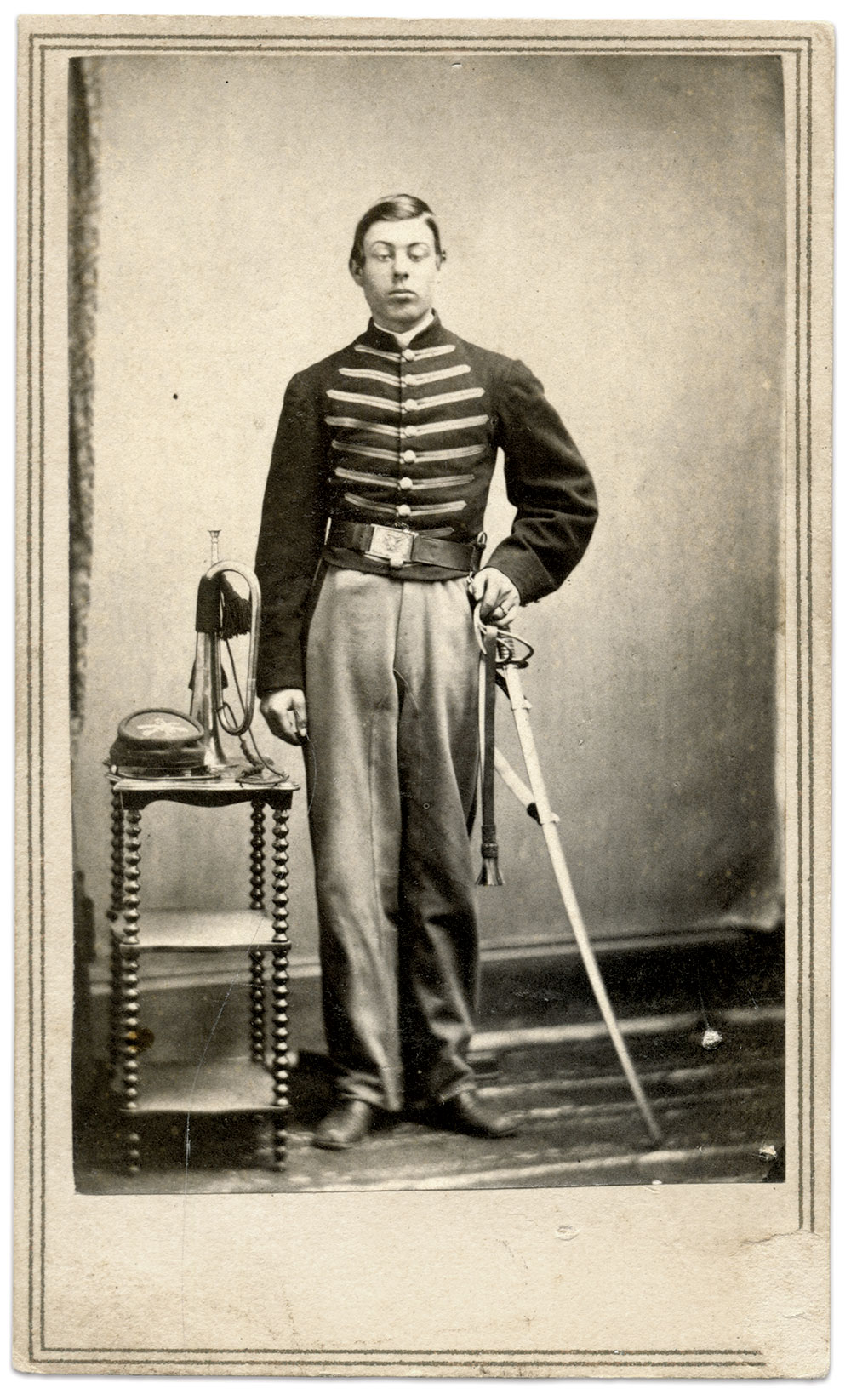 Carte de visite by Edwin A. Scholfield of Westerly, R.I. Rick Carlile Collection.